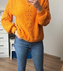 H&m narancs pulcsi