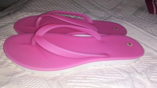 Pink szilikon/gumi tanga papucs