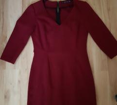 Zara meggybordó üzleti ruha M-es újszerű