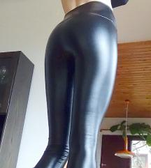 Gyönyörű bőr leggings ÚJ