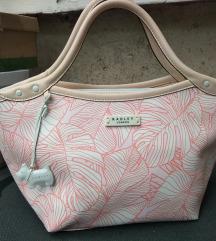 Eredeti Radley London rózsaszín mintás táska