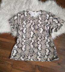H&m kígyómintás póló