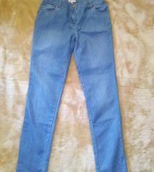 Fehér pöttyös mom jeans