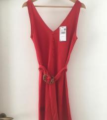 Új!! Mango piros nyári ruha