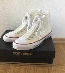 ÚJ magasszárú, különleges fehér Converse