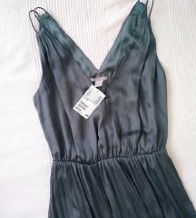 H&M szaténruha *címkés*
