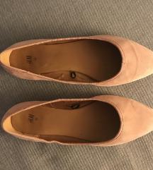 H&M púderrózsaszín balerina 39