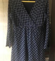 Egyberészes mintás ruha (36-38)