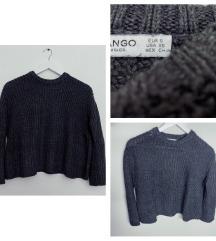Mango S-es kötött pulcsi