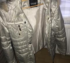 Ezüst átmeneti kabát