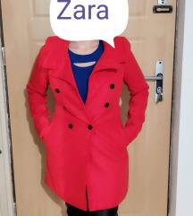 S kisebb M Piros Zara  szövet kabát