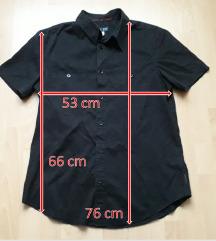 Armani Jeans fekete rövid ujjú ing, kb