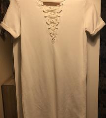 Bershka fehér ruha xs/s