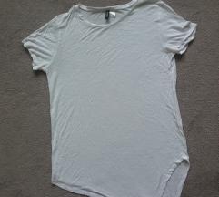 Fehér divided hosszított póló 400FT