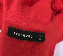 Reserved  piros pulóver