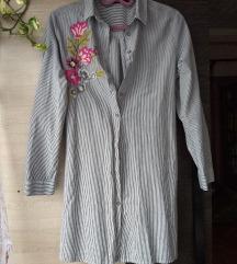 Hímzett hosszított ing