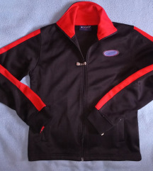 Converse fekete-piros pulóver