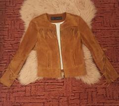 Zara valódi bőr dzseki