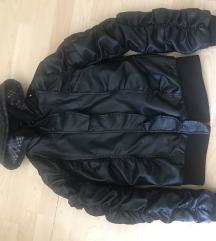 Új műbőr kabát