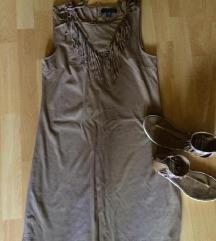 Nőin velúr INDIÁNOS nyári ruha 38-as