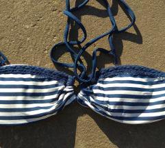 Csíkos bikini top