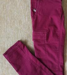 Skinny női cargo nadrág