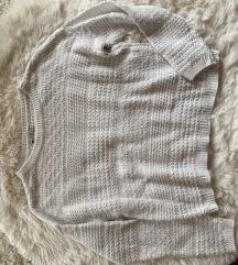 Bershka Bővebb fazonú kötött pulcsi