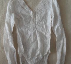 Fehér csipke body