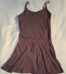 H&M barna pamut ruha