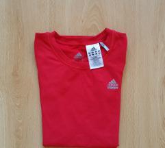 Eredeti Adidas Techfit piros póló felső top shirt