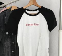 """Zara """"Vintage Feels"""" póló"""