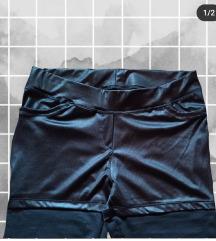Bőrhatású nadrág