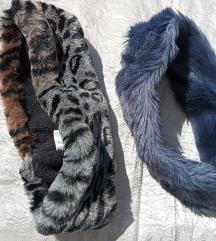 Kék+állatmintás műszőrme homlokpánt