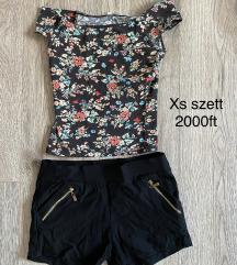 xs haspóló+ rövidnadrág