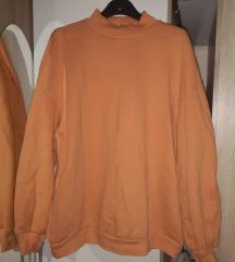 Sárga oversize pulóver