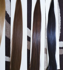 Új minőségi haj hajfonashoz sötétbarna 2 csomag