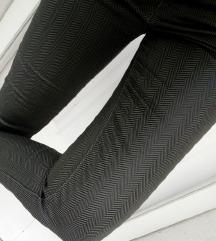 ÚJ! Khaki színű elegáns nadrág övvel