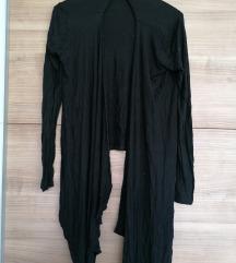 Black waterfall cardigan