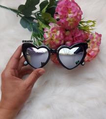 SL LOULOU ihlette vintage szív napszemüveg