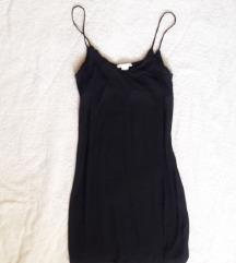 🎀 H&M fekete pamutruha XS/S 🎀