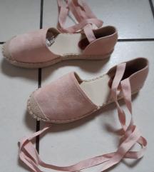 púder rózsaszín kötős papucs cipő 37
