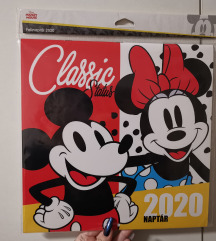 Mickey mouse falinaptár