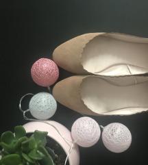 Balerína cipő bézs