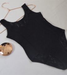 Fekete csipke body / S-es