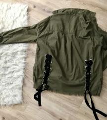 H&M kabát/oversized ing
