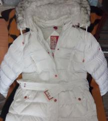 Hófehér téli kabát