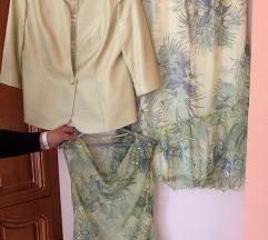 Martha may zöld gyönyörű női alkalmi kosztüm
