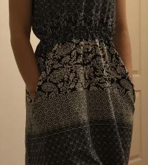 Mintás zsebes nyári ruha