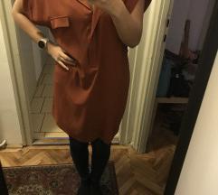 Téglaszínű ingruha