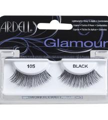 Ardell Glamour Lashes műszempilla - 105 Black - új